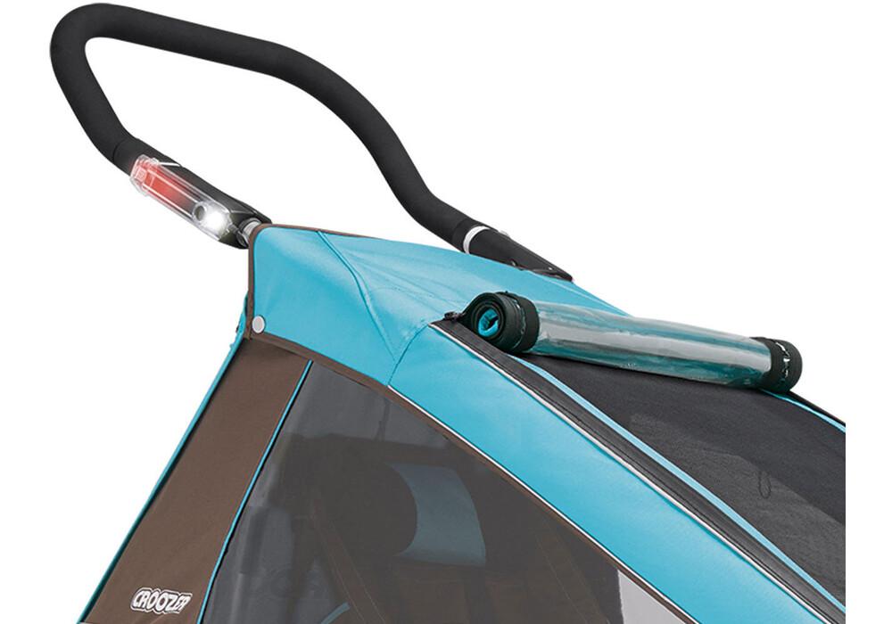 croozer kid plus for 1 fahrrad kinder anh nger sky blue. Black Bedroom Furniture Sets. Home Design Ideas